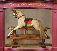 Dapple Grey Standard and Deluxe Tetbury Rocking Horse